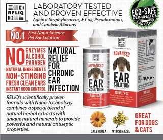Reliq Advance Ear Care Solution 120ml