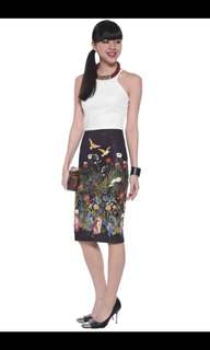 Love Bonito Madeleine Pencil Skirt Small