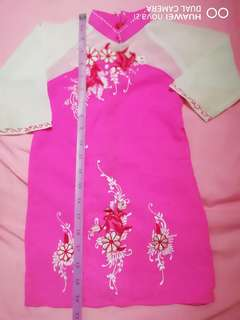 Vietnamese kid's dress traditional wear for 2 -3yo