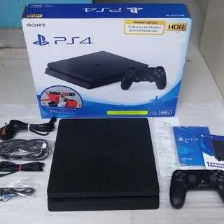 Playstation 4 bnew slim 500gb