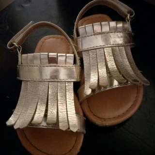 Gold Baby Sandals