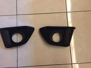 Honda Jazz fog light cover 2014