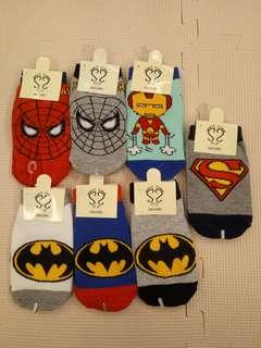 Superhero Kid Sock (1-4 yrs old)
