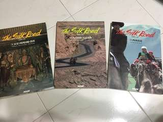 The Silk Road- a set of 3 books