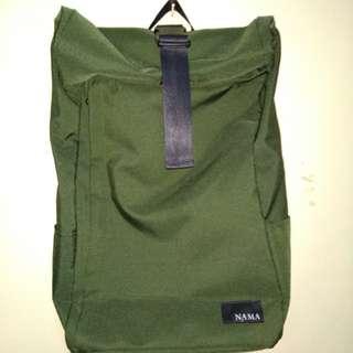 Rolltop Bagpack Nama Lite 321 Green Army