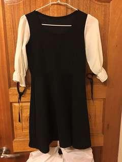 🚚 黑色連身洋裝