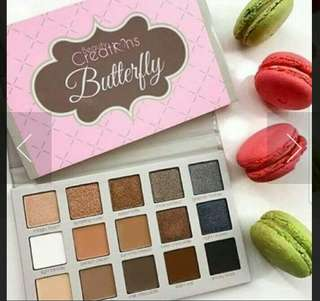 Beauty creations butterfly eyeshadows pallette
