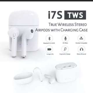 HBQ i7s Tws Wireless Earbuds Bluetooth earphone Airpod with charging box