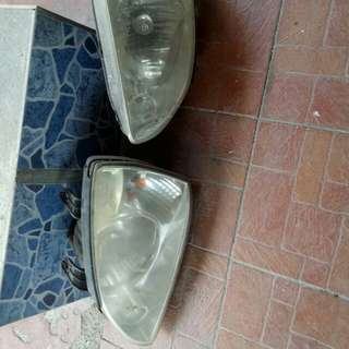 Bonet & Headlamp Naza Citra