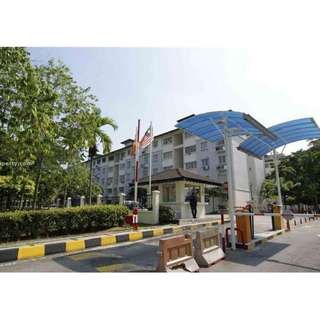 {Auction} Bandar Sri Damansara Low Cost Flat for sale