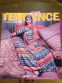 French Book on Fashion Trends: Tendance
