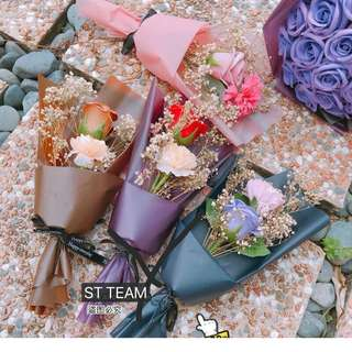 Happy Mother's Day, soap, Rose Carnation, Star