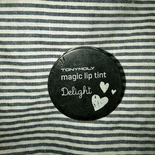 Magic lip tint tonymoly