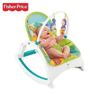 Fisher-Price® Rainforest Friends Newborn-to-Toddler Portable Rocker