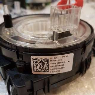 Vw touran steering  wheel control module (clock spring)