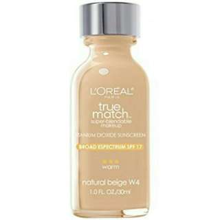 Loreal ture match foundation