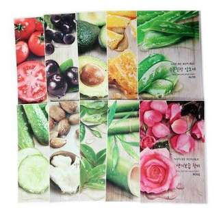 PROMO!! Nature Republic - Real Nature Mask Sheet