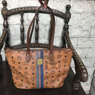 Authentic MCM Visetos Tote Bag