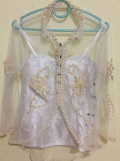 Kebaya lace with sequins