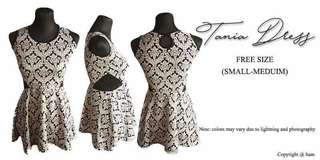 Tania Dress (freesize)