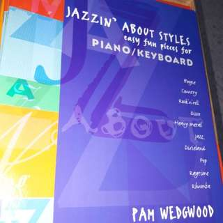 Jazzin' About Styles ( grades 2-4)