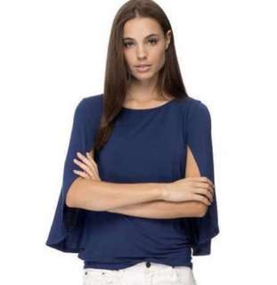 Zalora cape top