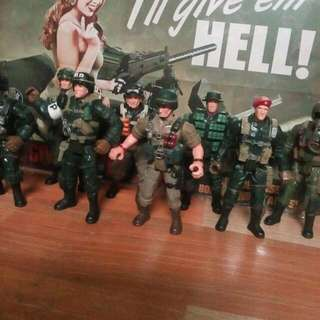 Army Figure Collection.