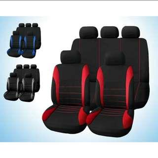 9pcs Car seat cover