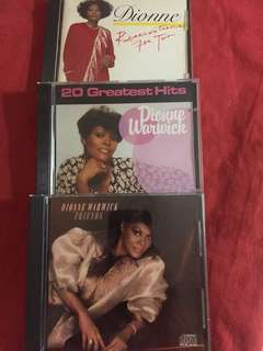 3 Dionne Warwick hard to find CDs