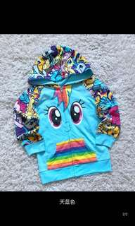PO My Little Pony Jackets Brand New Size 4-8yrs old