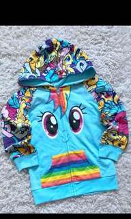 Instock My Little Pony Jackets Brand New Size 5t for 5-6yrs old