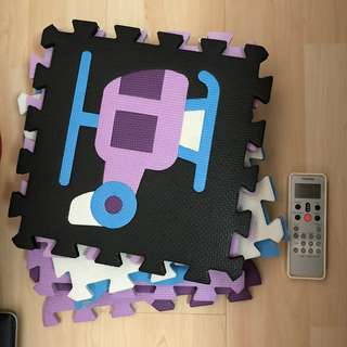 Puzzle mat foams (xl)