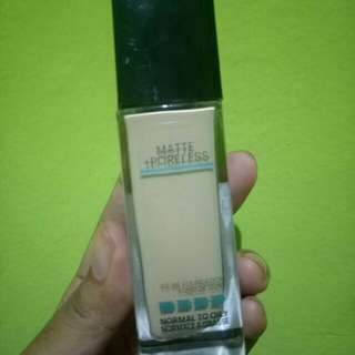 fit me foundation, normal to oily