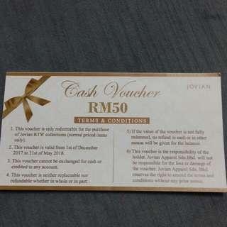 Jovian Mandagie cash voucher