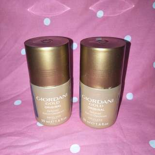 Giordani gold deodorant roll on