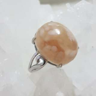 ⭐Ring (Cherry Agate*樱花玛瑙)