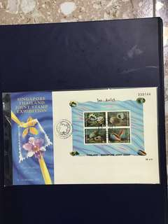 Thailand Miniature Sheet FDC As in Pictures