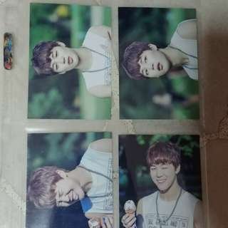 BTS 2nd muster photocards
