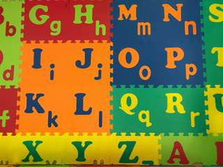 Alphabet Jigsaw Play Mat