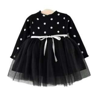 Instock baby girl tutu party dress