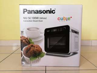 Panasonic Cubie Steam Convection Oven NU-SC100W