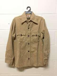 vintage 70s levis big E shirt jacket