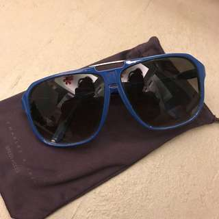 Blue Frame Charles and Keith Aviators