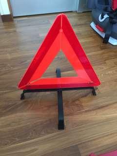 Vehicle Warning Sign