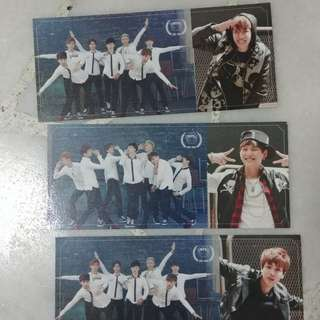 BTS SLA Photocards