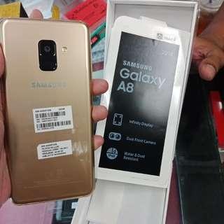 Samsung Galaxy A8 2018 Gold Bisa Kredit Tanpa Cc
