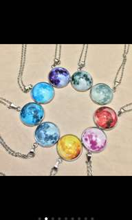 Moon Necklace Preloved Onhand