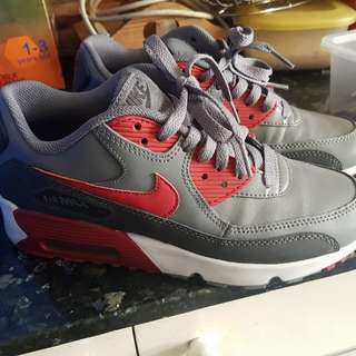 Nike airmax 90 gray/red