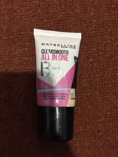 Maybeine BB Cream Clearsmooth All in One