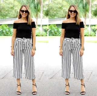Black Stripes Terno